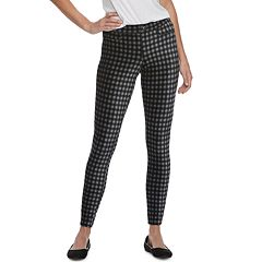 Women's Utopia by HUE Gingham Corduroy Leggings