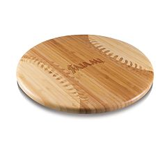 Picnic Time Miami Marlins  Wooden Cutting Board