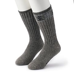 Men's Columbia 2-pack Patterned Wool-Blend Boot Crew Socks