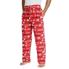 Men's Wisconsin Badgers Midfield Pajama Pants