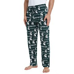 Men's Michigan State Spartans Midfield Pajama Pants