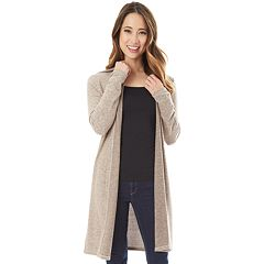 Juniors' IZ Byer Hooded Duster Cardigan