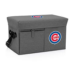 Picnic Time Chicago Cubs Ottoman Cooler & Seat