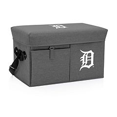 Picnic Time Detroit Tigers Ottoman Cooler & Seat
