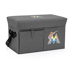 Picnic Time Miami Marlins Ottoman Cooler & Seat