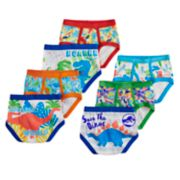 Toddler Boy 7-pack Jurassic Park Briefs Underwear