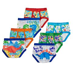 5cd28f531c8 Toddler Boy 7-pack Jurassic Park Briefs Underwear