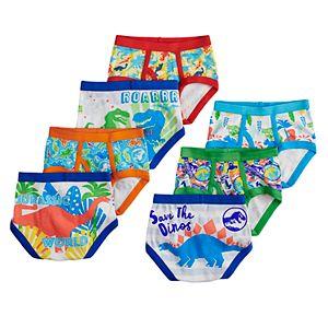 Toddler Boy 7-pack Jurassic Park Briefs Underwear