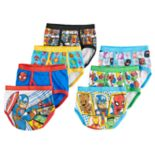 Toddler Boy 7-pack Marvel Avengers Superhero Briefs Underwear