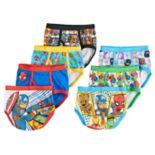 Toddler Boy 7-pack Marvel Avengers Superhero Briefs Underwear