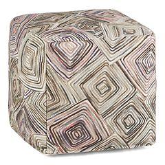 Simpli Home Jodi Cube Pouf