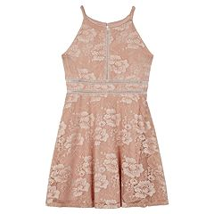 Girls 7-16 IZ Amy Byer Sleeveless Lace Dress