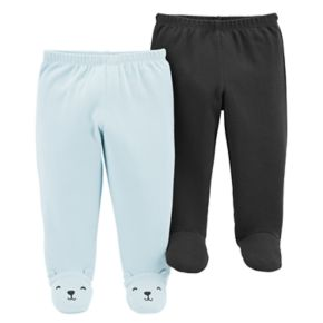 Baby Carter's 2-Pack Footed Pants