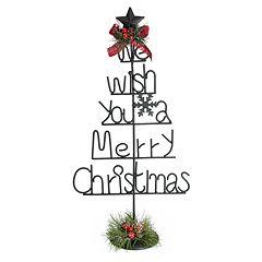 St. Nicholas Square® 'Wish You A Merry Christmas' Decor