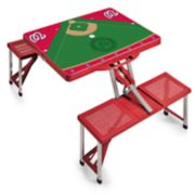 Picnic Time Washington Nationals  Portable Picnic Table with Field Design