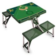Picnic Time Oakland Athletics  Portable Picnic Table with Field Design
