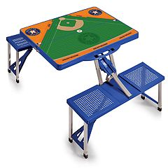 Picnic Time Houston Astros  Portable Picnic Table with Field Design