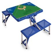 Picnic Time Kansas City Royals  Portable Picnic Table with Field Design