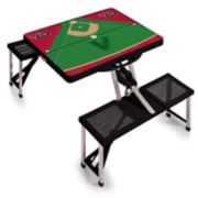 Picnic Time Arizona Diamondbacks  Portable Picnic Table with Field Design