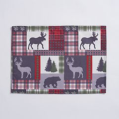 Mainstreet Quilted Lodge Placemat