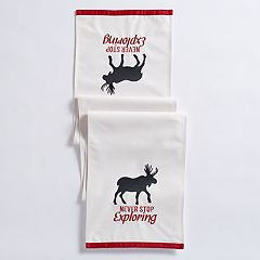 Mainstreet Exploring Moose Table Runner - 72'