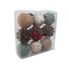 SONOMA Goods for Life™ Seasonal Sphere Vase Filler 9-piece Set