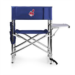 Picnic Time Cleveland Indians Sports Side Table Chair