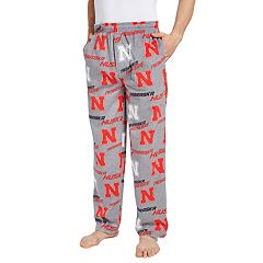 Men's Nebraska Cornhuskers Achieve Fleece Pajama Pants