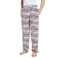 Men's Indiana Hoosiers Achieve Fleece Pajama Pants