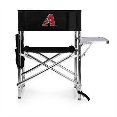 Picnic Time Arizona Diamondbacks Sports Side Table Chair