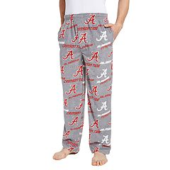 Men's Alabama Crimson Tide Achieve Fleece Pajama Pants