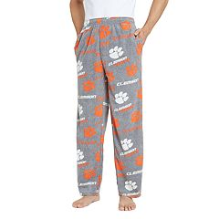 Men's Clemson Tigers Achieve Fleece Pajama Pants