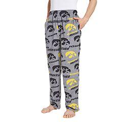 Men's Iowa Hawkeyes Achieve Fleece Pajama Pants
