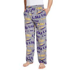Men's LSU Tigers Achieve Fleece Pajama Pants