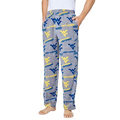 Men's West Virginia Mountaineers Achieve Fleece Pajama Pants