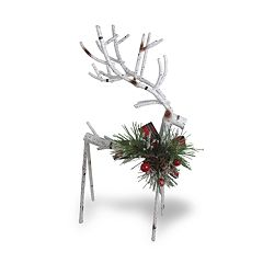 St. Nicholas Square® 17-in. Artificial Birch Reindeer Christmas Decor