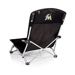 Picnic Time Miami Marlins Tranquility Portable Beach Chair