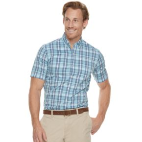 Men's Dockers® Comfort Stretch Classic-Fit Woven Button-Down Shirt