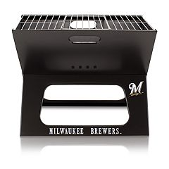 Picnic Time Milwaukee Brewers X-Grill Portable Barbecue