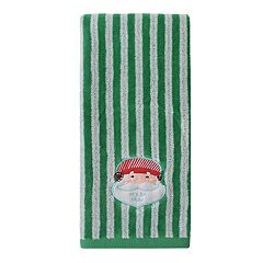St. Nicholas Square® Holiday Cheer Santa Face Hand Towel