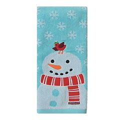 St. Nicholas Square® Holiday Cheer Big Snowman Hand Towel