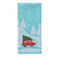 St. Nicholas Square® Holiday Cheer Scenic Car Hand Towel
