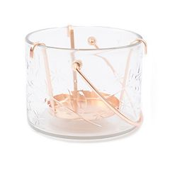 LC Lauren Conrad Small Glass Tealight Candle Holder