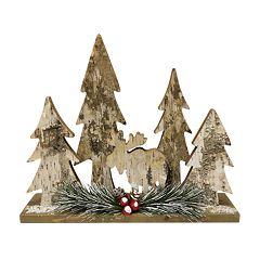 St. Nicholas Square® Rustic Moose Lodge Table Decor