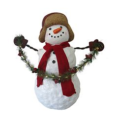 St. Nicholas Square® 30.5-in. Snowman Christmas Decor