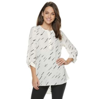 Women's Apt. 9® Shirred High-Low Hem Tunic