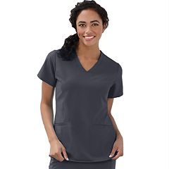 Women's Jockey Scrubs Embossed Top