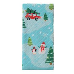 St. Nicholas Square® Holiday Cheer Scenic Hand Towel