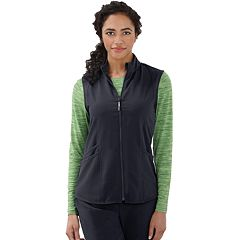 Women's Jockey Scrubs Sporty Zip Vest