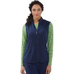 Women's Jockey Scrubs Sporty Zip Vest